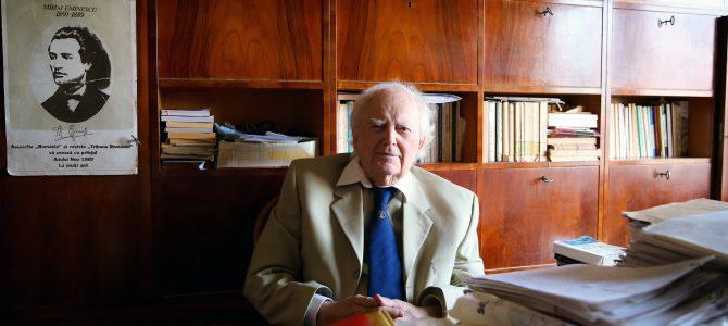 A plecat la Domnul pentru a se întâlni cu Mihai Eminescu. Veșnică pomenire, Dimitrie Vatamaniuc (25 septembrie 1920, Sucevița – 4 iulie 2018, București)